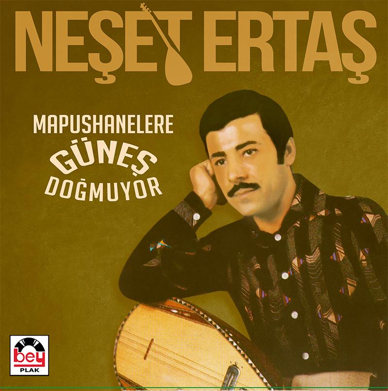 LP PLAK - NEŞET ERTAŞ - MAPUSHANELERE GÜNEŞ DOĞMUYOR / LONG PLAY